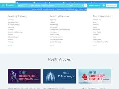 Research Based Healthcare Finder