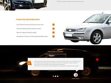 Auto Loan Company Website 2