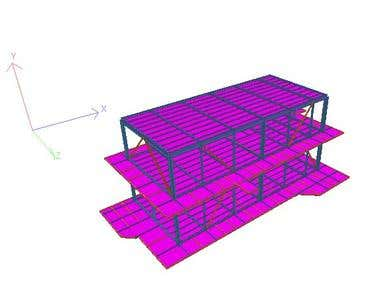 Analysis and Design of steel structures -  in Staadpro
