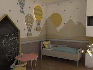 Room design for kids