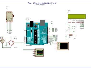 Rotor RPM Detector for Mazda Motor