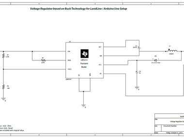 Buck Regulator Design for Tip/Ring Voltage System
