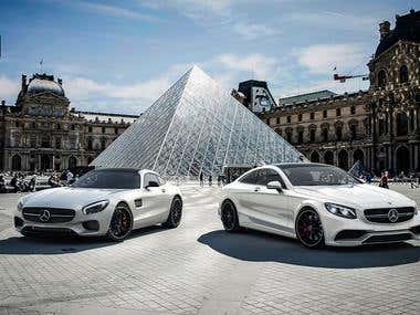 Mercedes-Benz AMG GT S and S63