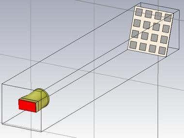 Reflect array antenna