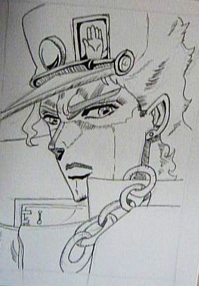 Commissioned Artwork : Jotaro Kujo
