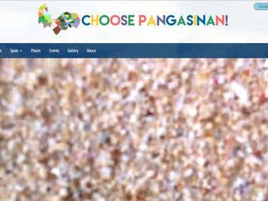 Choose Pangasinan! Website Development