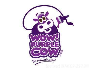 Logo - WowPurpleCow.com