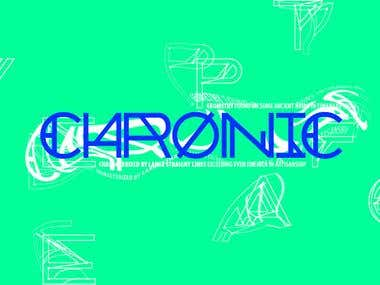 CHRONIC Typeface