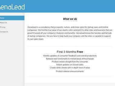 GenaLead: Handle Sales & Lead Gen for Saas businesses