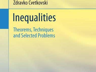 Written book about Inequalities, by Springer-Verlag