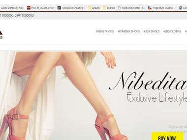 e-commerce site with woocommerce and wordpress