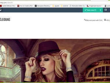 Site builder using Codeigniter, AJAX, Json