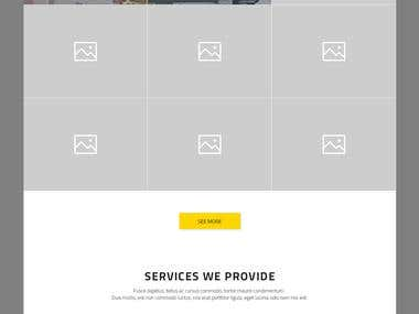 Web design (uncoded)