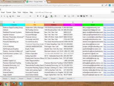 Find information from linkedin