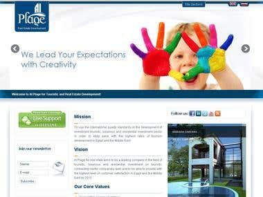 Multilingual Joomla Website