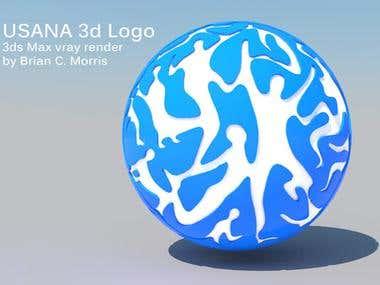 Usana 3d Logo