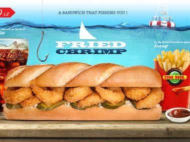 Fast Food Design Flayers