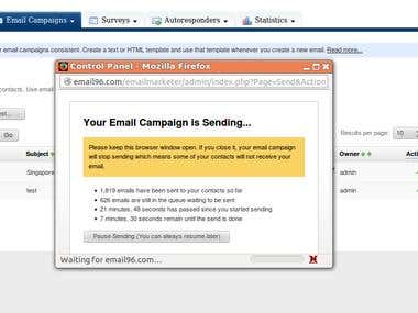 Interspire Email Marketing nulled version installation