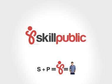 Creative Logo design For SkillPublic