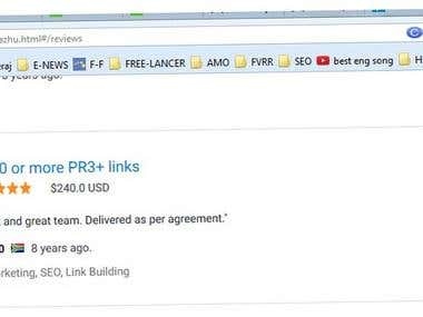 200 PR3+ Backlinks
