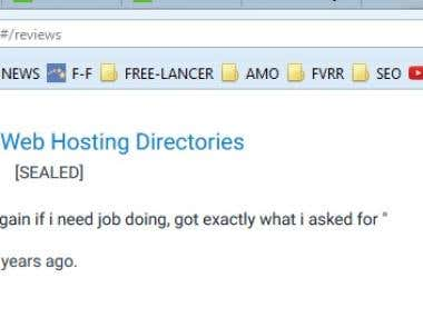 Submit to Web Hosting