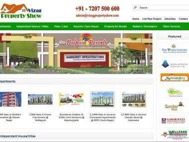 Webdesign : Property Listing