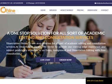 Uk Online Dissertation