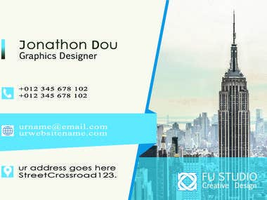 business card work