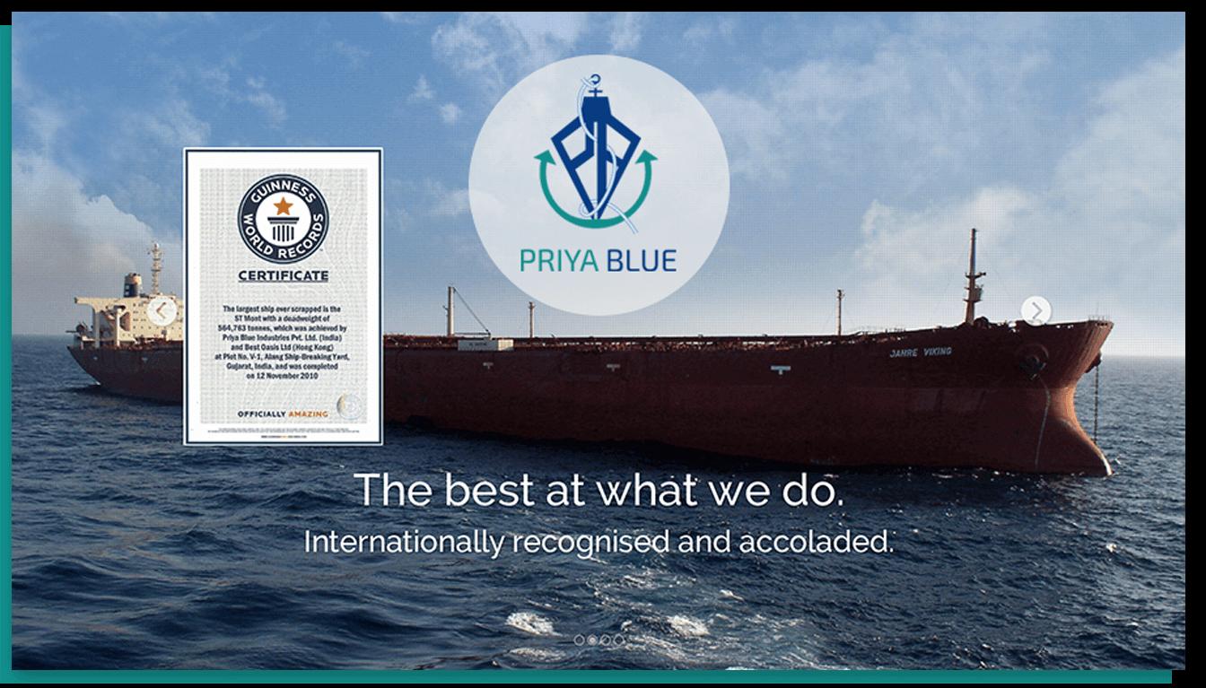 Priya Blue