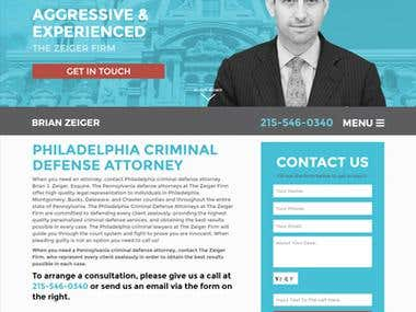 Brianzeiger.com / Custom CMS / Law Firm