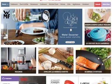 TavolaShop.com / Ecommerce / Middle East Brand