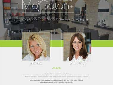 MojSalon.com / Custom CMS / Hair Cut Salon