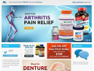 www.medicals.com / Ecommerce / Online Medicine Sale