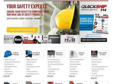 www.hubindustrial.com / Ecommerce / Industrial Supply