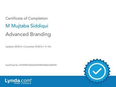 Advanced Branding Certified