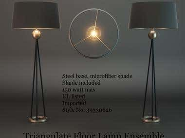 3D Modeling of  Lamps