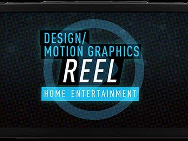 3D Motion Graphic Reel