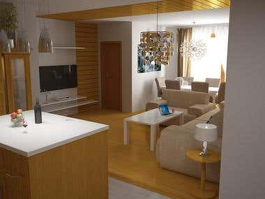Architecture Interior Render