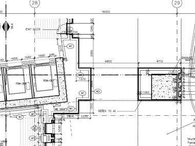 Residential Plan designed and Drafted in AutoCad