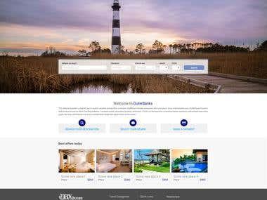 OBX Ocean Website