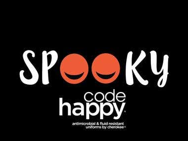 CODE HAPPY HALLOWEEN VIDEO