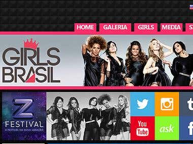 Girls Brasil Website