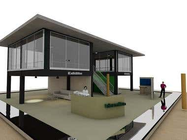 Design buildings and stands for your exhabition
