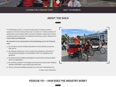 Pedicabbers Guild SF