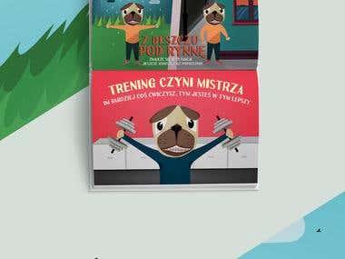 Książka - Polskie przysłowia - Book for kids