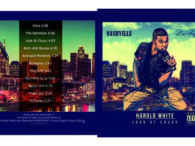 Album Cover, Banner Design, Flyer Design, Brochure Design