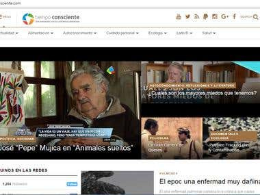 Portal de Noticias   – Tiempo Consciente