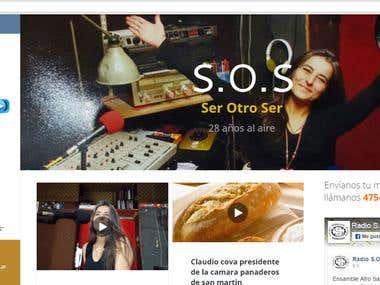 Pagina web   – FM SOS 105.1