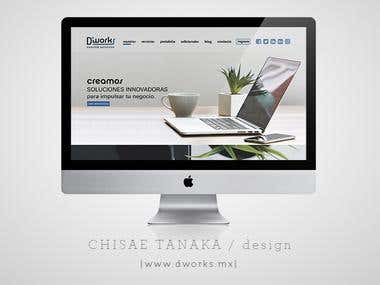 Dworks / branding & web design
