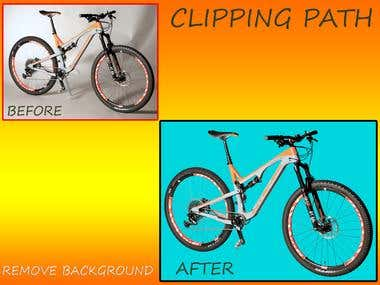 Clipping path & remove background